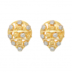 Popley 22Kt Gold Bandhan Earring - A11