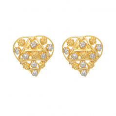 Popley 22Kt Gold Bandhan Earring - A13