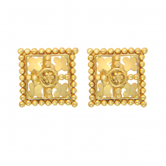 Popley 22Kt Gold Bandhan Earring - A18