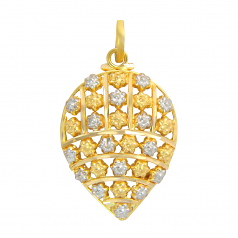 Popley 22Kt Gold Bandhan Pendant - A10