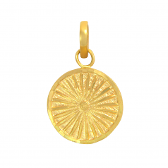 Popley 22Kt Gold Bandhan Pendant - A65