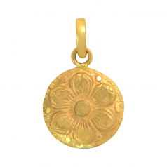 Popley 22Kt Gold Bandhan Pendant - A64