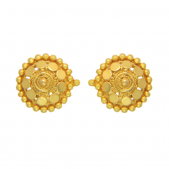 Popley 22Kt Gold Bandhan Earring - A38