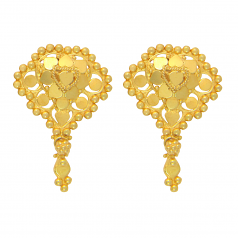 Popley 22Kt Gold Bandhan Earring - A46