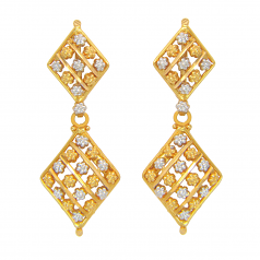 Popley 22Kt Gold Bandhan Earring - A77