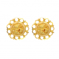 Popley 22Kt Gold Bandhan Earring - A37
