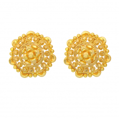 Popley 22Kt Gold Bandhan Earring - A39