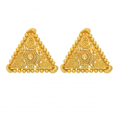 Popley 22Kt Gold Bandhan Earring - A40