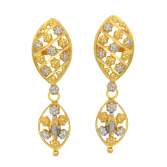 Popley 22Kt Gold Bandhan Earring - A78