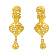 Popley 22Kt Gold Bandhan Earring - A67