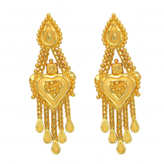 Popley 22Kt Gold Bandhan Earring - A69