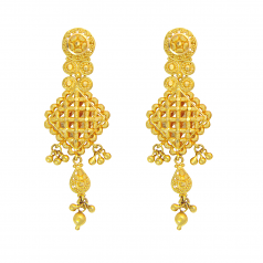 Popley 22Kt Gold Bandhan Earring - A72