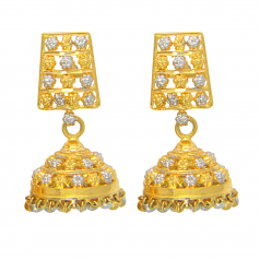 Popley 22Kt Gold Bandhan Earring - A79