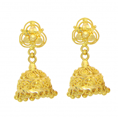 Popley 22Kt Gold Bandhan Earring - A95