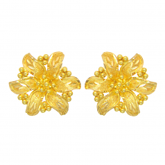 Popley 22Kt Gold Bandhan Earring - A96
