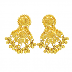 Popley 22Kt Gold Bandhan Earring - A99