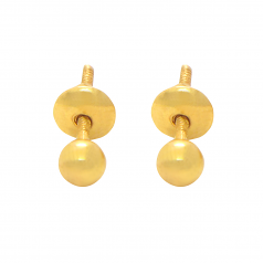 Popley 22Kt Gold Bandhan Earring - A100