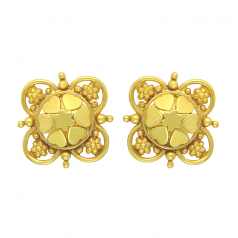 Popley 22Kt Gold Bandhan Earring - A94