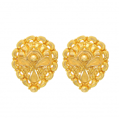 Popley 22Kt Gold Bandhan Earring - A42