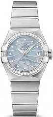 Omega Constellation CO-AXIAL 27 MM Steel on steel - 123.15.27.20.57.001