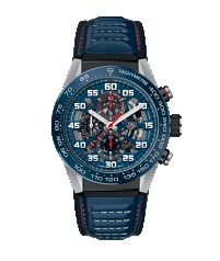 TAG HEUER CARRERA CALIBRE HEUER 01 AUTOMATIC CHRONOGRAPH 100m - 45mm RED BULL RACING SPECIAL EDITION - CAR2A1N.FT6100
