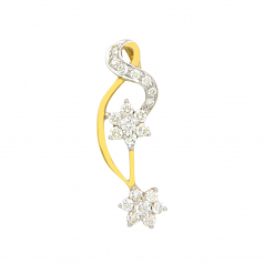 VFM 18K Yellow Gold Diamonds Pendant - VFM365