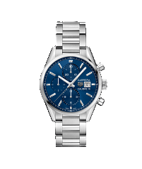 TAG HEUER CARRERA CALIBRE 16 AUTOMATIC CHRONOGRAPH 100m - 41mm - CBK2112.BA0715
