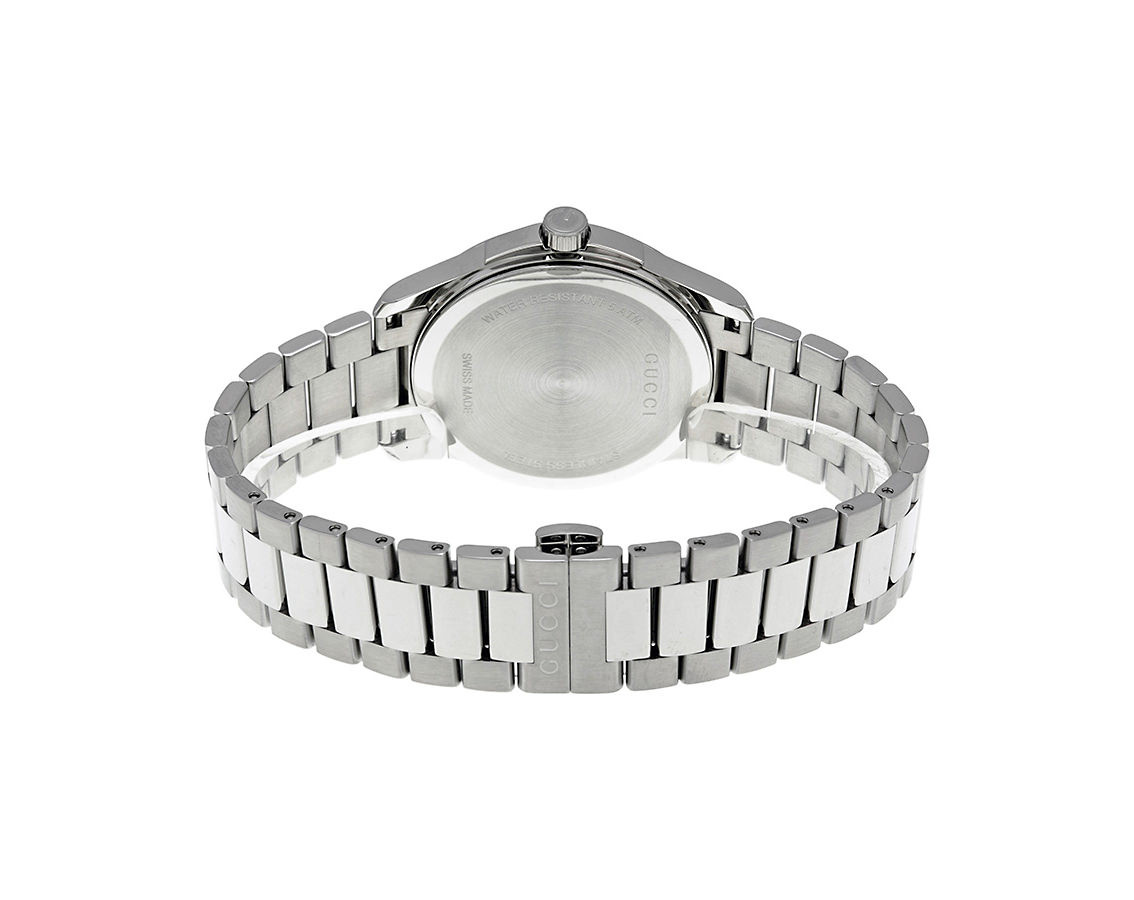 6e9a8469be9 Gucci G-Timeless Silver Dial 38mm Stainless Steel Unisex Quartz Watch -  YA126442. Loading.