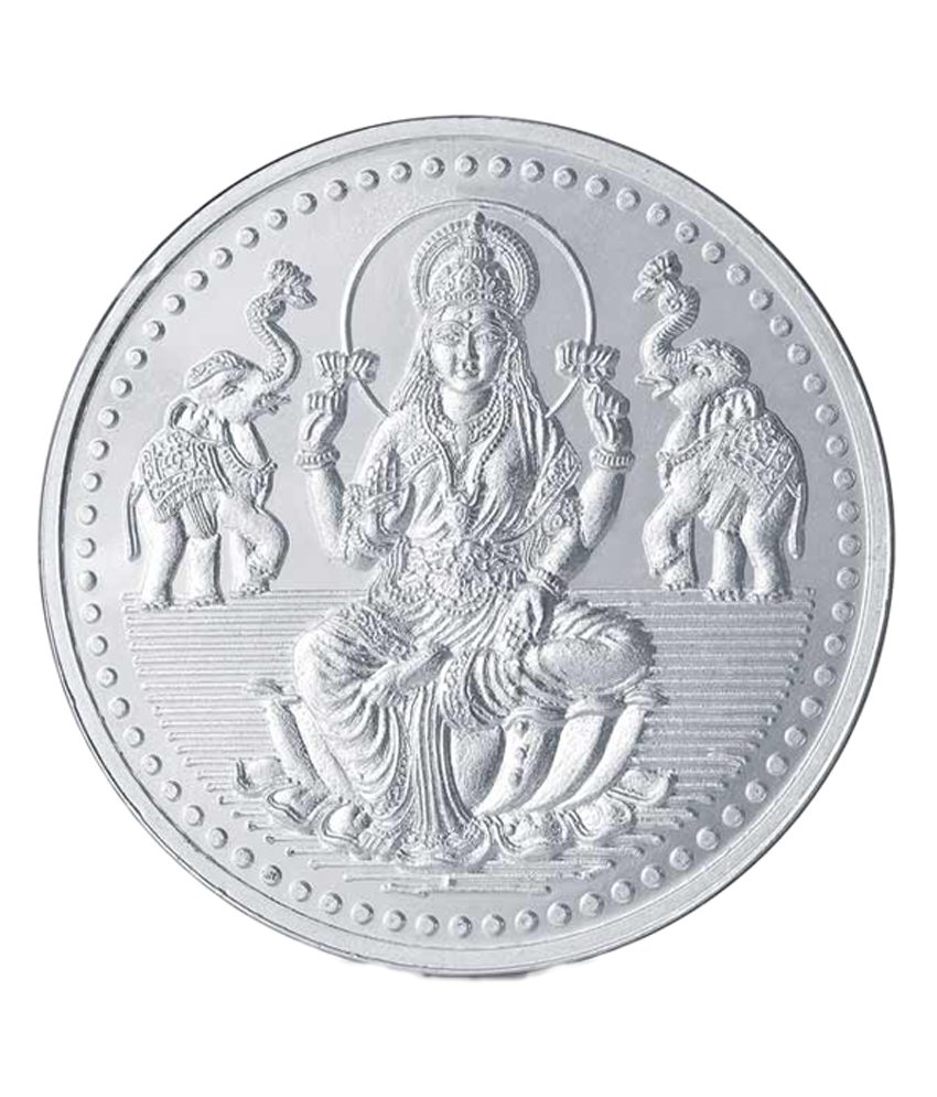 Buy Popley Silver 999 Purity 25 Gram Coin With Goddess