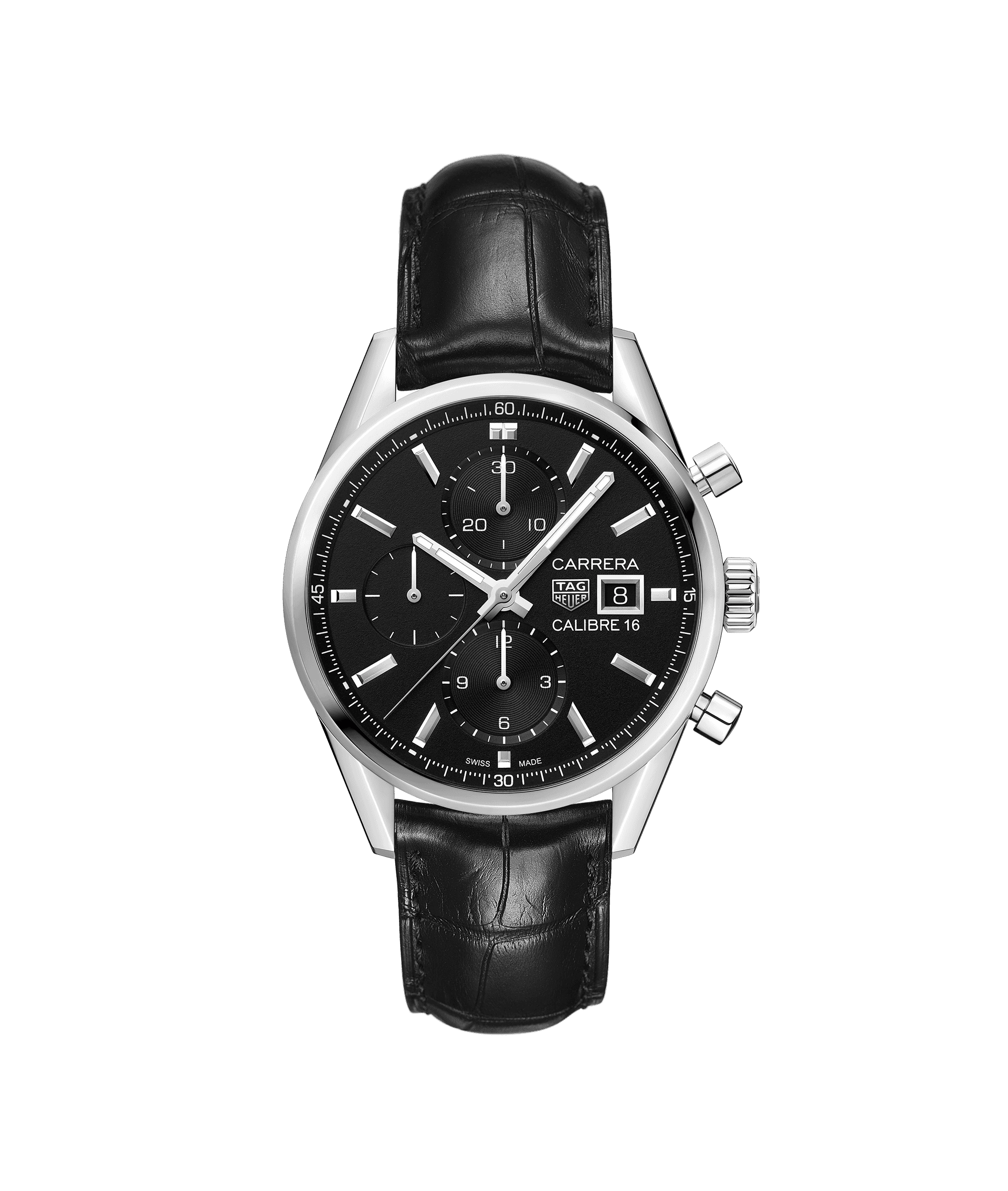 TAG Heuer carrera chronograph Automatic 100m - 41mm - CBK2110.FC6266