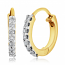 Diamond Ids 18K Yellow Gold Diamonds Earring - DID4910