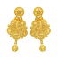 Popley 22Kt Gold Bandhan Earring - A73