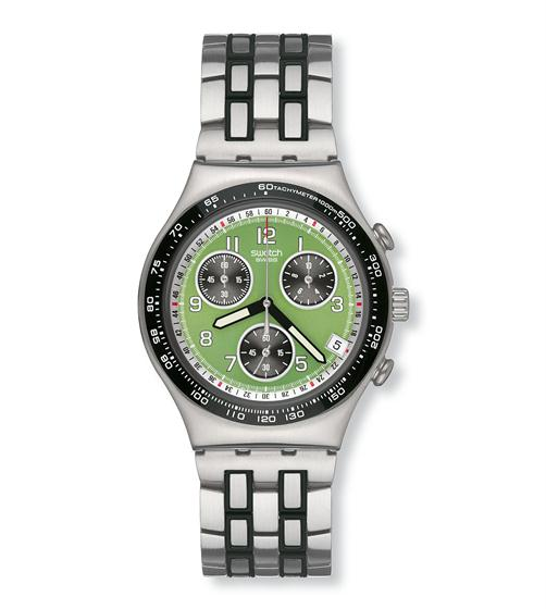 Swatch Green Nectar Mens Watch YCS493G