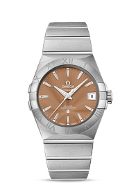 Omega Constellation CO-AXIAL 38 MM Steel on steel - 123.10.38.21.10.001