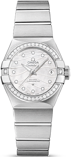 Omega Constellation CO-AXIAL 27 MM Steel on steel 123.15.27.20.55.002