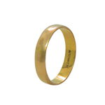 18Kt Yellow Gold Band Ring