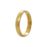 22Kt Yellow Gold Band Ring