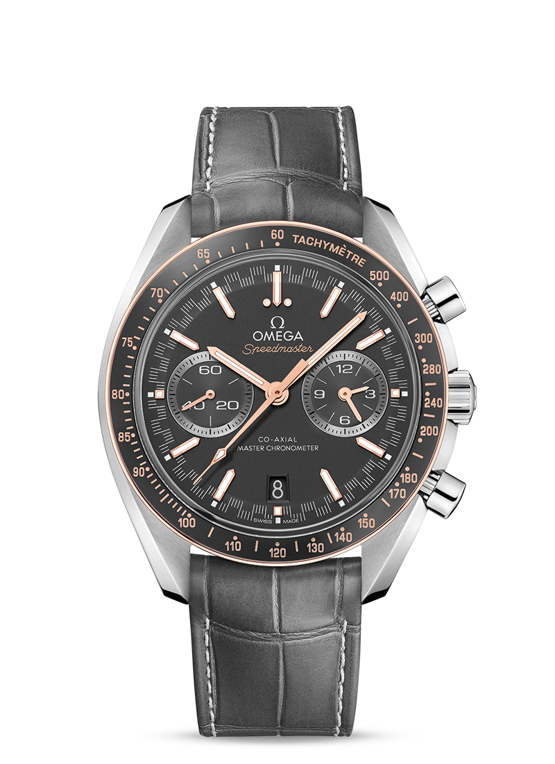 Omega Speedmaster RACING CO-AXIAL MASTER CHRONOMETER CHRONOGRAPH 44.25 MM Steel on leather strap 329.23.44.51.06.001