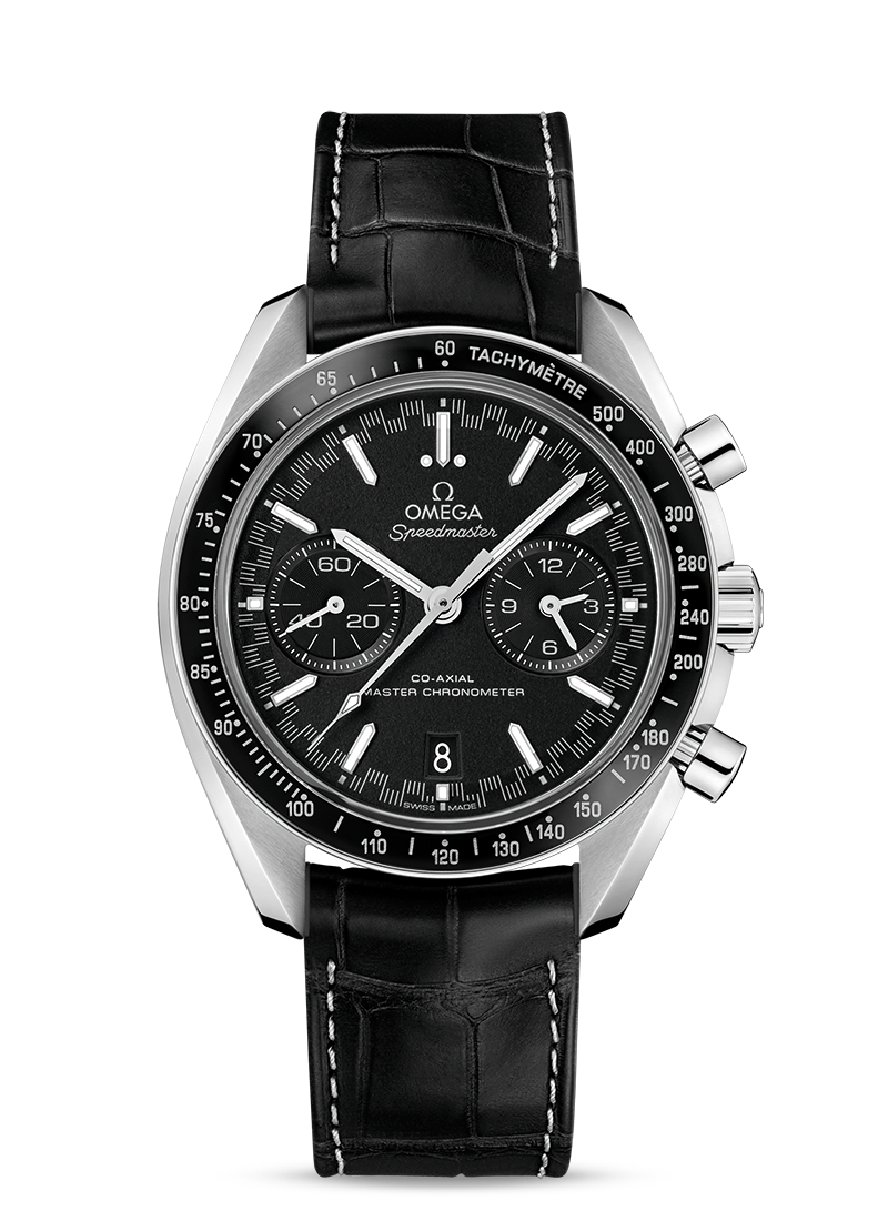 Omega Speedmaster RACING OMEGA CO-AXIAL MASTER CHRONOMETER CHRONOGRAPH 44.25 MM Steel on leather strap - 329.33.44.51.01.001