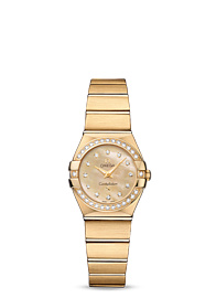 Omega Constellation QUARTZ 24 MM Yellow gold on yellow gold - 123.55.24.60.57.001