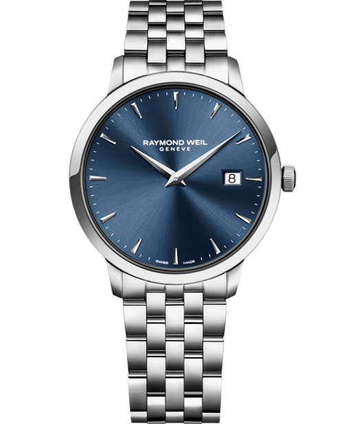 Raymond Weil TOCCATA 39 mm Steel on steel blue dial - 5488-ST-50001