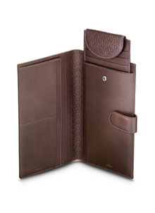 Omega Fine Leather Travel Wallet 7020220007
