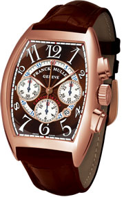 Franck Muller Cintrée Curvex Chronograph 8880 CC AT Brown