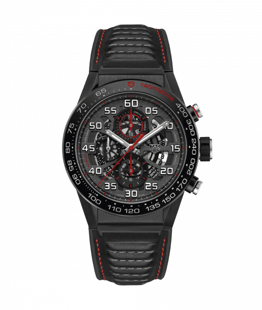 TAG HEUER CARRERA CALIBRE HEUER 01 100m - 45mm - CAR2A1H.FT6101