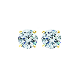 SOLO Diamond Earring 3/4-YG-E
