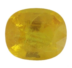 Stone Gemstone Yellow Saphire STO519