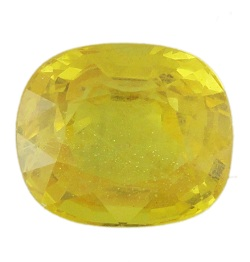 Stone Gemstone Yellow Saphire STO520