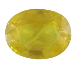 Stone Gemstone Yellow Saphire STO521