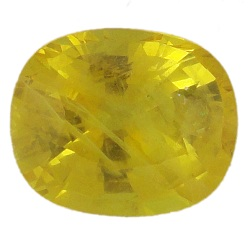 Stone Gemstone Yellow Saphire STO522