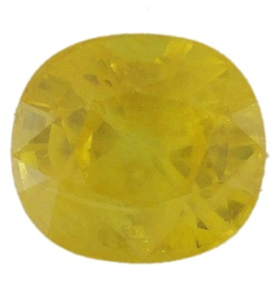 Stone Gemstone Yellow Saphire STO525